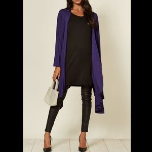 ❗❗ 3/$20 Purple Waterfall Cardigan